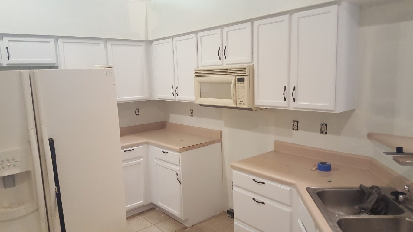 Finished Cabinets